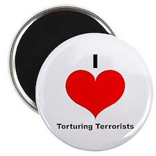 I Love Torturing Terrorists Magnet