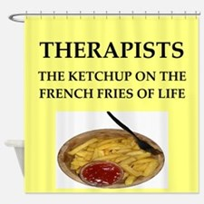 therapist Shower Curtain