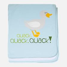 Quack baby blanket