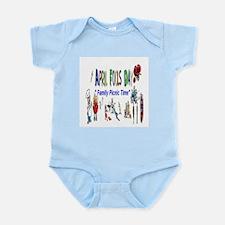 April Fools Day Picnic Infant Bodysuit