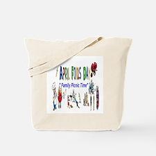 April Fools Day Picnic Tote Bag