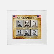 Chickamauga - Union Throw Blanket