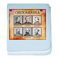 Chickamauga - Union baby blanket
