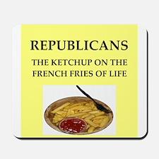 republicans Mousepad