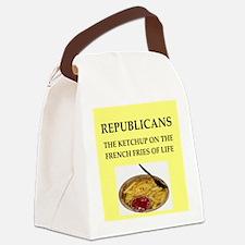 republicans Canvas Lunch Bag