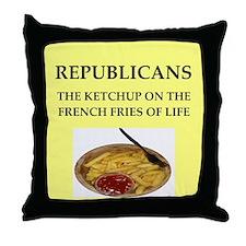 republicans Throw Pillow