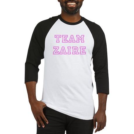 Pink team Zaire Baseball Jersey