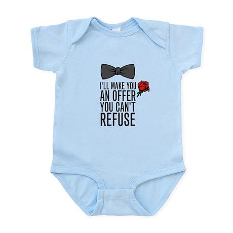 Mobster Infant Bodysuit