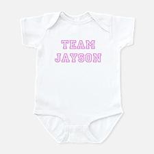 Pink team Jayson Infant Bodysuit