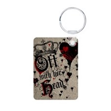 Off With Her Head Keychains