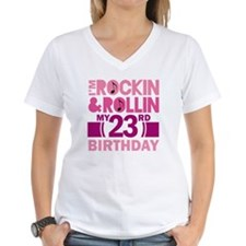 23rd Birthday rock and roll Shirt