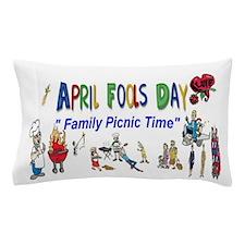 April Fools Day Picnic Pillow Case