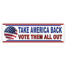 VOTE THEM OUT Bumper Bumper Sticker