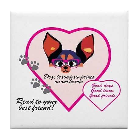 PuppyLove Tile Coaster