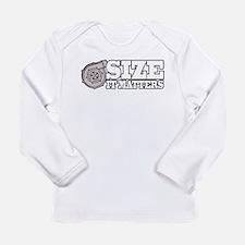 Size Matters Long Sleeve Infant T-Shirt