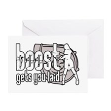 Boost Laid Greeting Card
