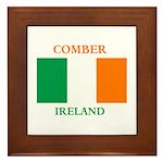 Comber Ireland Framed Tile
