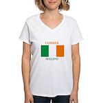 Comber Ireland Women's V-Neck T-Shirt