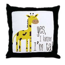 Im Tall Throw Pillow