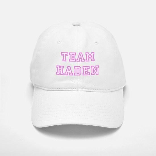 Pink team Haden Baseball Baseball Cap