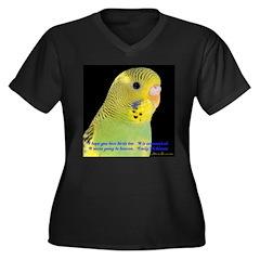 Parakeet 1 Steve Duncan Women's Plus Size V-Neck D