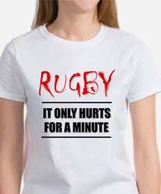 It Only Hurts 1 Rugby Tee