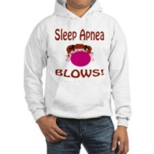 Sleep Apnea Blows! Hoodie