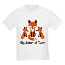Big Sister of Twins - Mod Fox T-Shirt
