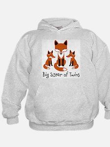 Big Sister of Twins - Mod Fox Hoody