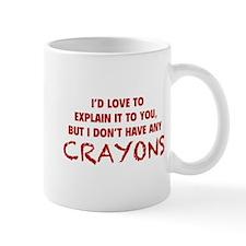 Crayons Small Mug