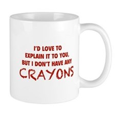 Crayons Small Mugs