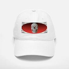 Halloween Cross-Eyed Skull Baseball Baseball Cap