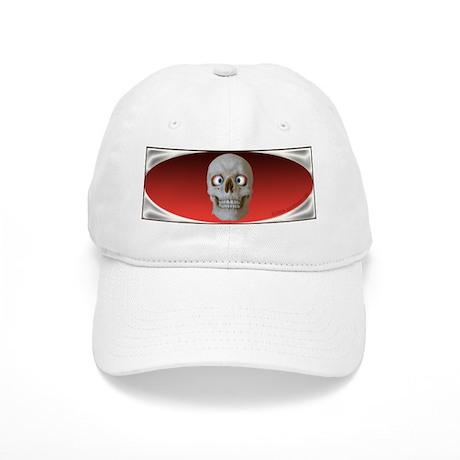 Halloween Cross-Eyed Skull Cap