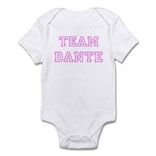 Pink team Dante Infant Bodysuit