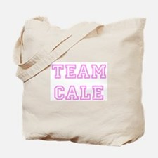Pink team Cale Tote Bag