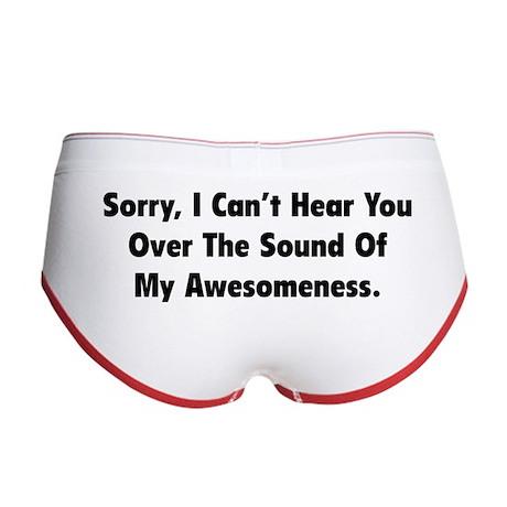 My Awesomeness Women's Boy Brief