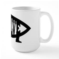 Evolve Fish Symbol Mug