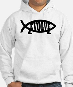Evolve Fish Symbol Jumper Hoody