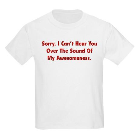 My Awesomeness Kids Light T-Shirt