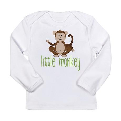 Little Monkey Long Sleeve Infant T-Shirt