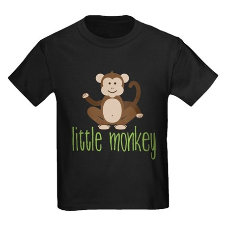 Little Monkey Kids Dark T-Shirt