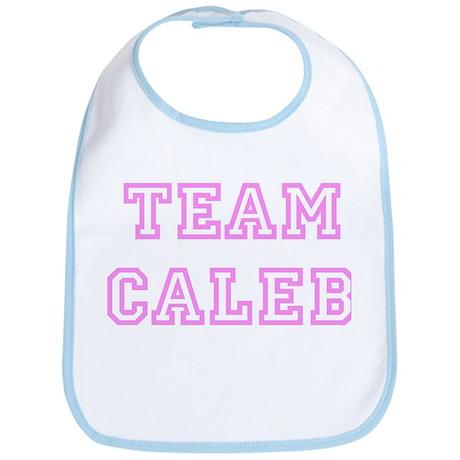 Pink team Caleb Bib