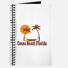 Cocoa Beach - Palm Trees Design. Journal