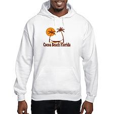 Cocoa Beach - Palm Trees Design. Hoodie