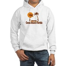 Cocoa Beach - Palm Trees Design. Jumper Hoody
