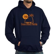 Cocoa Beach - Palm Trees Design. Hoody