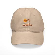 Cocoa Beach - Palm Trees Design. Cap