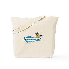 Cocoa Beach - Surf Design. Tote Bag