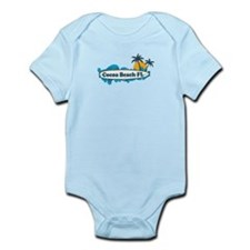 Cocoa Beach - Surf Design. Infant Bodysuit