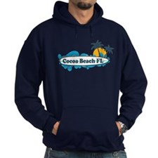 Cocoa Beach - Surf Design. Hoody